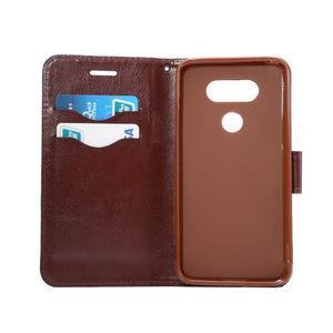 Jeans peňaženkové puzdro pre LG G5 - svetlomodré - 7