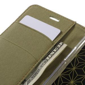 Diary PU kožené pouzdro na mobil LG G5 - khaki - 7