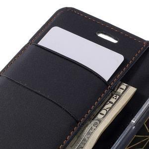 Diary PU kožené puzdro pre mobil LG G5 - čierne - 7