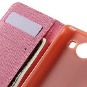 Peňaženkové puzdro pre Microsoft Lumia 950 - srdce - 7