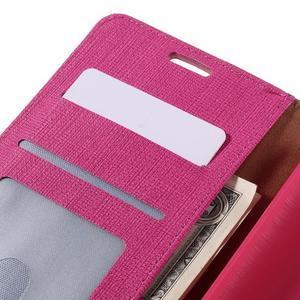 Cloth Peňaženkové puzdro pre mobil Microsoft Lumia 950 - rose - 7