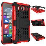 Outdoor odolný kryt na mobil Microsoft Lumia 950 - červený - 7/7