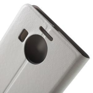 Horse Peňaženkové puzdro pre Microsoft Lumia 950 XL - biele - 7