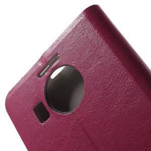 Horse peněženkové pouzdro na Microsoft Lumia 950 XL - rose - 7