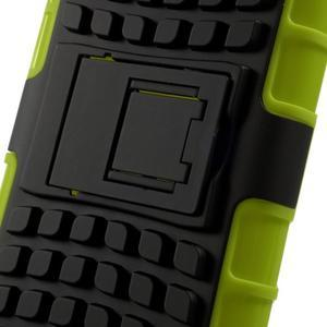 Outdoor odolný obal pre mobil HTC Desire 620 - zelený - 7