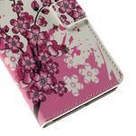 Peňaženkové puzdro Huawei Y635 - kvitnúca vetvička - 7/7