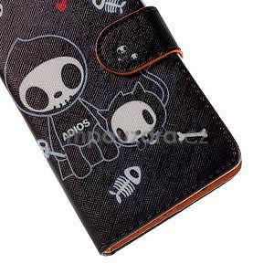 Zapínacie peňaženkové puzdro na Huawei Y635 - fishbone - 7