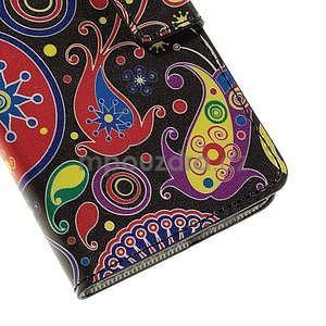 Peňaženkové puzdro na Huawei Y635 - farebné kruhy - 7