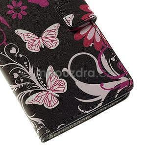 Peňaženkové puzdro na Huawei Y635 - motýlikové - 7
