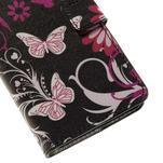 Peňaženkové puzdro na Huawei Y635 - motýlikové - 7/7