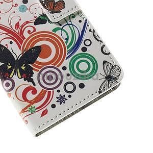 Peňaženkové puzdro na Huawei Y635 - motýle - 7