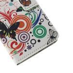 Peňaženkové puzdro na Huawei Y635 - motýle - 7/7
