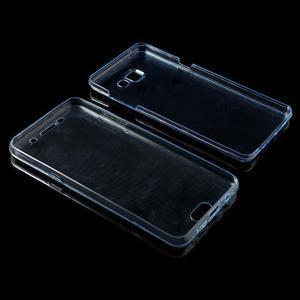 Gélový obal 2v1 pro zadní kryt a displej pre Samsung Galaxy A5 (2016) - modrý - 7