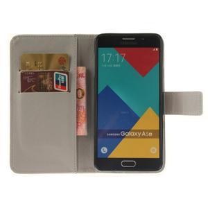 Wall peňaženkové puzdro pre Samsung Galaxy A5 (2016) - geo tvary - 7