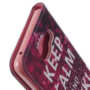 Softy peňaženkové puzdro pre Samsung Galaxy A5 (2016) - Keep Calm - 7