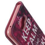 Softy peňaženkové puzdro pre Samsung Galaxy A5 (2016) - Keep Calm - 7/7