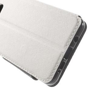 Peňaženkové puzdro s okienkom pre Samsung Galaxy A5 (2016) - biele - 7
