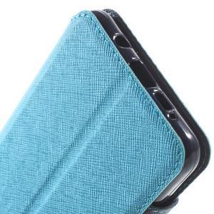Peňaženkové puzdro s okienkom pre Samsung Galaxy A5 (2016) - svetlomodré - 7