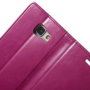 Moon PU kožené pouzdro na Samsung Galaxy A5 (2016) - rose - 7