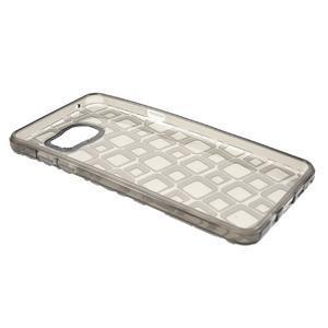 Square gelový obal na mobil Samsung Galaxy A5 (2016) - šedý - 7