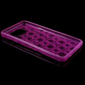 Square gelový obal na mobil Samsung Galaxy A5 (2016) - rose - 7