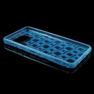 Square gelový obal na mobil Samsung Galaxy A5 (2016) - modrý - 7
