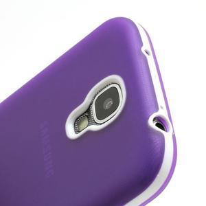 Gelové pouzdro 2v1 na Samsung Galaxy S4 - fialové - 7