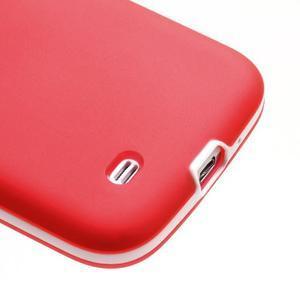 Gelové pouzdro 2v1 na Samsung Galaxy S4 - červené - 7