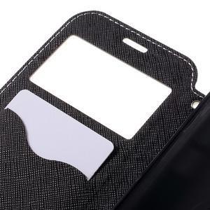 Diary puzdro s okienkom pre Samsung Galaxy S7 - biele - 7