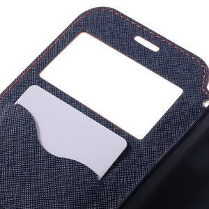 Diary puzdro s okienkom pre Samsung Galaxy S7 - oranžové - 7