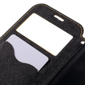 Diary pouzdro s okýnkem na Samsung Galaxy S7 - žluté - 7