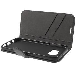 Leat PU kožený obal na Samsung Galaxy S7 - černý - 7