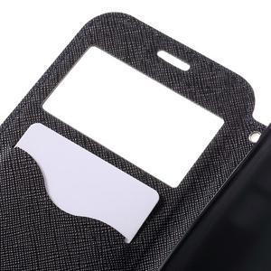 Diary puzdro s okienkom pre Samsung Galaxy S7 - tmavomodré - 7