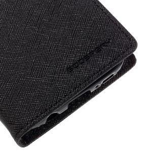 Goosper PU kožené pouzdro na Samsung Galaxy S7 - černé - 7