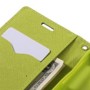 Goosper PU kožené pouzdro na Samsung Galaxy S7 - tmavěmodré - 7