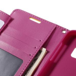 Luxury PU kožené puzdro pre Samsung Galaxy S7 - žlté - 7