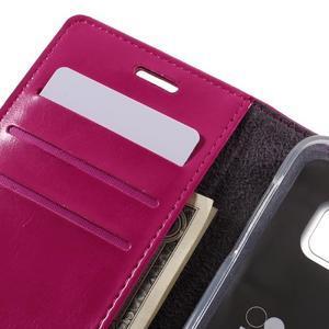 Bluemoon PU kožené pouzdro na mobil Samsung Galaxy S7 - rose - 7