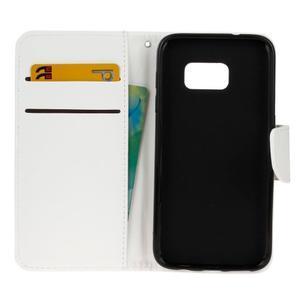 Stand peňaženkové puzdro pre Samsung Galaxy S7 - biele - 7