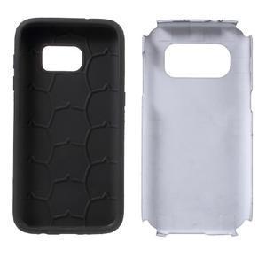 Dvoudílný odolný kryt na Samsung Galaxy S7 - černý - 7