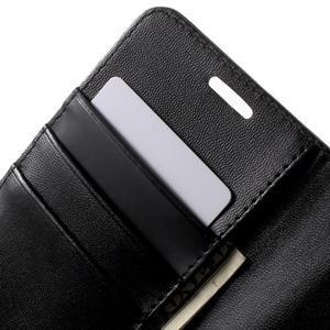 Sonata PU kožené pouzdro na Samsung Galaxy S7 - černé - 7