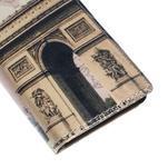 Peňaženkové puzdro pre Sony Xperia M4 Aqua - víťazný oblúk - 7/7