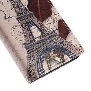 Peněženkové pouzdro na Sony Xperia M4 Aqua - Eiffelova věž - 7
