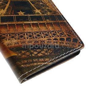 Peňaženkové puzdro pre Sony Xperia M4 Aqua - Eiffel - 7
