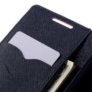 Mercur peněženkové pouzdro na Sony Xperia Z5 - červené - 7