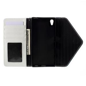 Štýlové Peňaženkové puzdro Sony Xperia Z5 - modré - 7