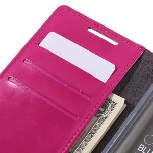 Moon PU kožené pouzdro na Sony Xperia Z5 - rose - 7