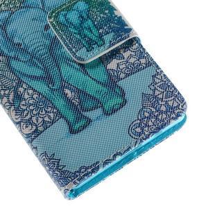 Diary Peňaženkové puzdro pre Sony Xperia Z5 Compact - slon - 7