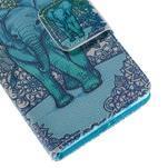 Diary Peňaženkové puzdro pre Sony Xperia Z5 Compact - slon - 7/7