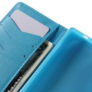 Diary peněženkové pouzdro na Sony Xperia Z5 Compact - vodní květ - 7