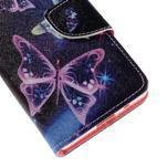 Wally peněženkové pouzdro na Sony Xperia Z5 Compact - kouzelní motýlci - 7/7
